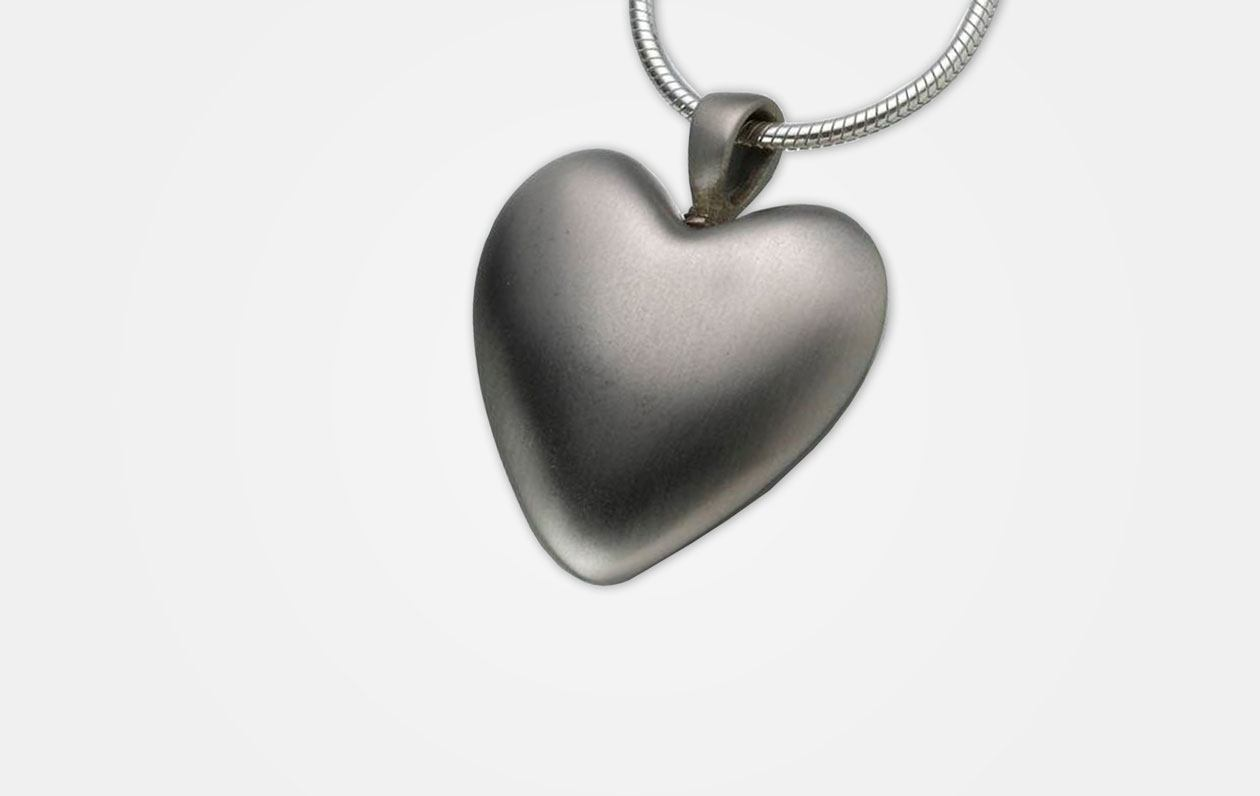 White-Bronze-Heart-Pendant