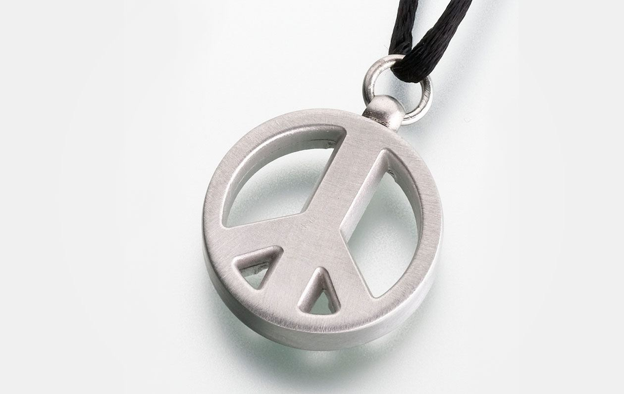 Pewter-Peace-Sign