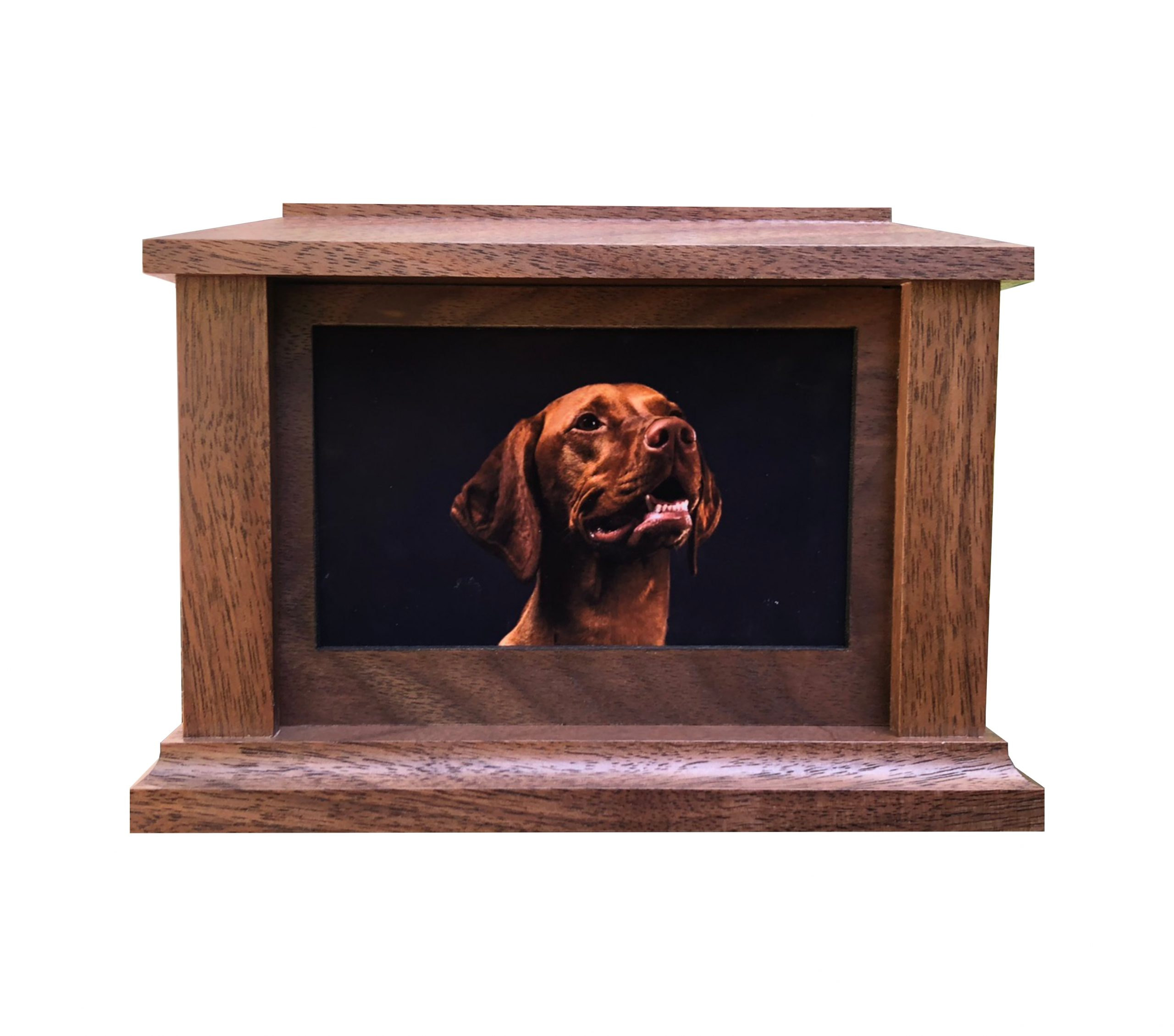 Country Woods Photo Urn Image